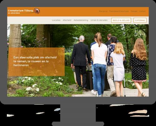 Crematorium Tilburg website door Jeanet Visser Tekst & Communicatie