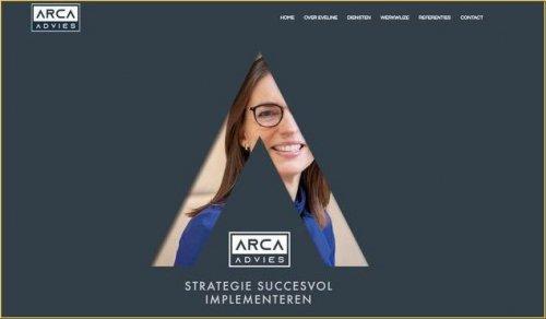 Eveline Heinen website ARCA advies