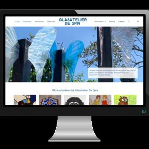 Glasatelier de Spin Project website